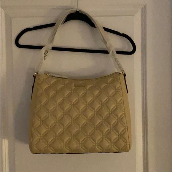 NWT Kate Spade shoulder Bag in beige